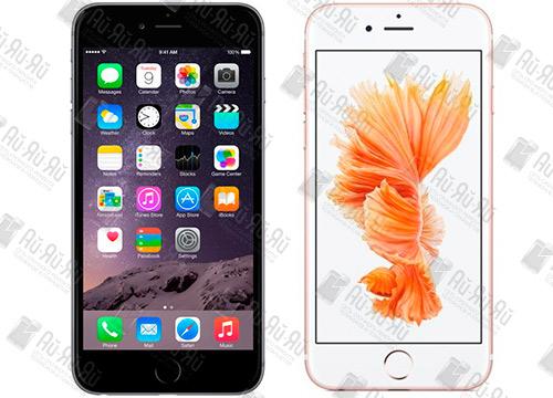 Отличия между iPhone 6 Plus i iPhone 6s Plus: Киев, Украина