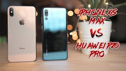 Huawei P20 Pro vs iPhone XS MaxiPhone XS Max vs iPhone XR