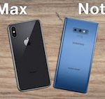 Samsung Note 9 vs iPhone XS Max