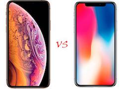 Сравнение iPhone X vs iPhone XS: Киев, Украина