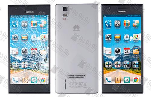 Замена стекла Huawei Ascend P2: Киев, Украина