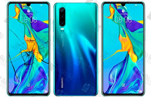 Замена стекла Huawei P30: Киев, Украина
