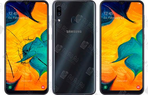 Замена стекла Samsung Galaxy A30 2019: Киев, Украина