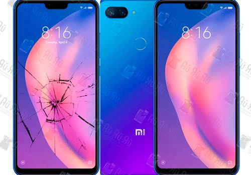 Замена стекла Xiaomi Mi 8 Lite: Киев, Украина