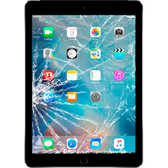 Разбилось стекло iPad Air 2: Киев, Украина