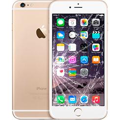 Разбилось стекло iPhone 6 Plus: Киев, Украина