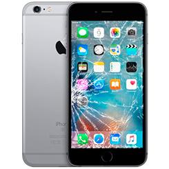 Разбилось стекло iPhone 6s Plus: Киев, Украина