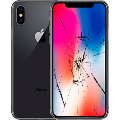 Разбилось стекло iPhone X (10): Киев, Украина