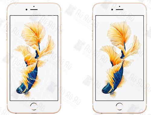 Разбилось стекло iPhone 6s: Киев, Украина