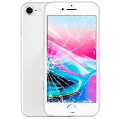 Разбилось стекло на iPhone 8: Киев, Украина