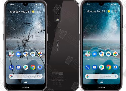 Замена стекла Nokia 4.2.: Киев, Украина