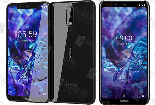 Замена стекла Nokia 5.1. Plus: Киев, Украина
