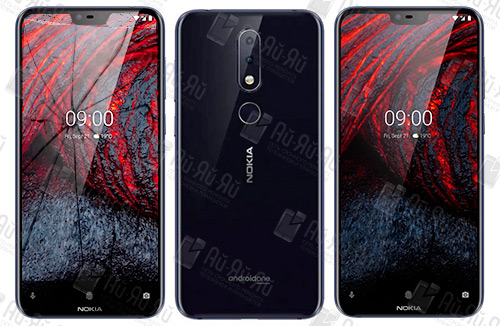Замена стекла Nokia 6.1 Plus: Киев, Украина