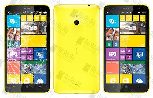 Замена стекла Nokia Lumia 1320: Киев, Украина