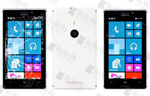 Замена стекла Nokia Lumia 925: Киев, Украина