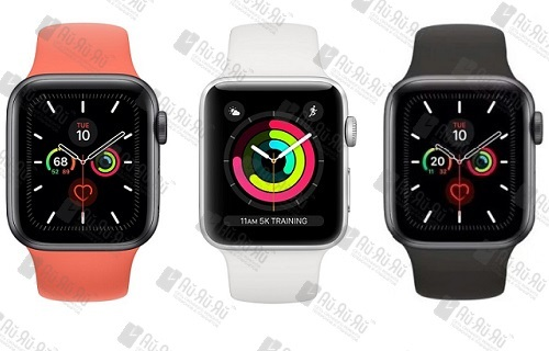Замена стекла Apple Watch Series 5: Киев, Украина
