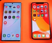 Сравнение iPhone 11 Pro Max и Samsung Note 10 Pro