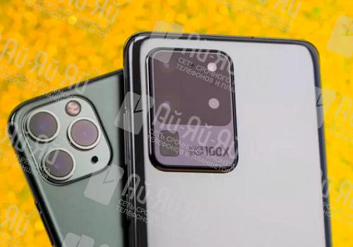 Сравнение iPhone 11 Pro Max и Samsung S20 Ultra: Киев, Украина
