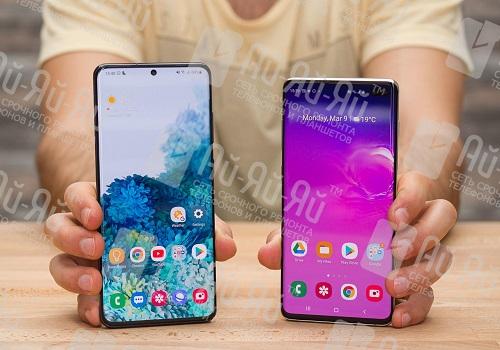 В чем отличия Samsung Galaxy S20 Plus и Samsung Galaxy S20 Ultra: Киев, Украина