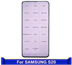 экран дисплей samsung galaxy s20