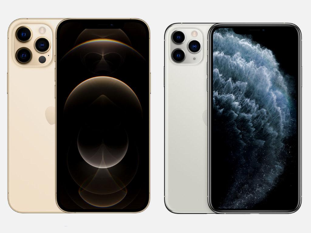 сравнение iPhone 12 Pro Max и iPhone 11 Pro Max